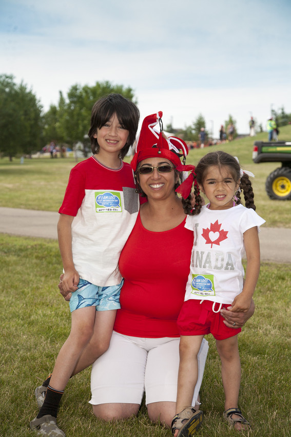 Spruce Grove Canada Day Celebration Family