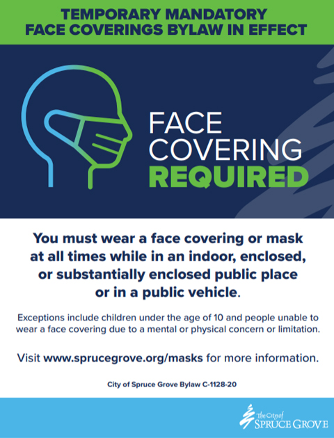 Face Covering Signage